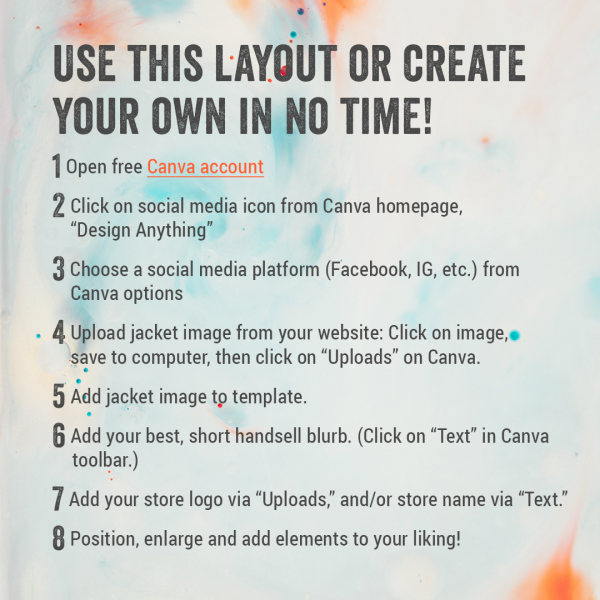 Indie Next List Custom Social Media Instructions